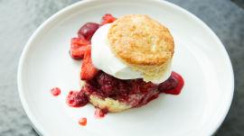 Perfect Spring Recipe: Strawberry-Basil Shortcake