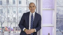 Matt Lauer on the Secret to Live Television