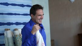 AD Visits Konstantin Kakanias to Talk About his New Fabric Collection with Michael S. Smith