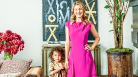 AD Visits: Ellen Pompeo at Home