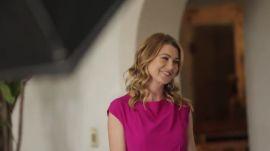 Behind the Scenes of Ellen Pompeo's AD Cover Shoot