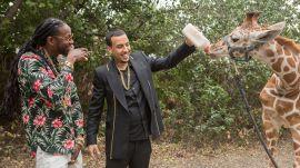 2 Chainz & French Montana Feed a $40K Giraffe