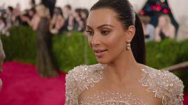 Kanye West and Kim Kardashian West at the Met Gala 2015