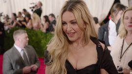 Madonna and Diplo at the Met Gala 2015