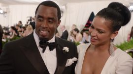 Diddy and Cassie at the Met Gala 2015