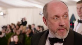 Peter Copping at the Met Gala 2015
