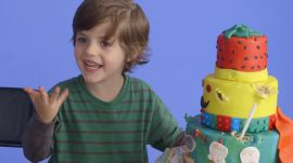 5-Year-Old George Imagines His Lego-Thor Dream Cake
