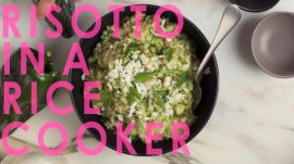 Rick Bayless Makes Risotto in a Rice Cooker