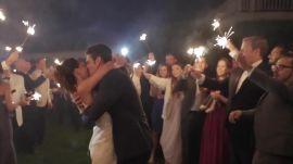 One Couple's Romantic, Rainy Wedding in the Hamptons