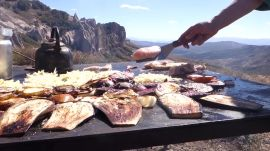 Lunch in the Andes, Where the Condors Roost