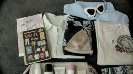 Olivia Lopez Packs for Palm Springs