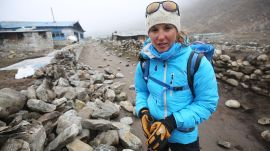 Climbing to Everest Base Camp Just Before the Nepal Earthquake