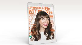 WIRED Issue Preview – July 2015 – All Work & All Play, With Rashida Jones