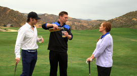 How to Drink with Strangers on a Golf Course