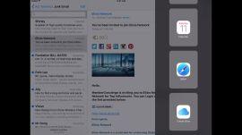 iOS 9 Multitasking on the iPad Air 2