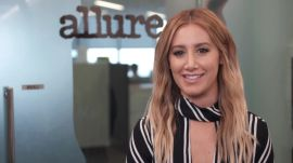 See Ashley Tisdale Give an Allure Beauty Editor a Haircut