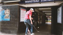 Juggling Golf Balls & Riding Unicycles Through the London Tube