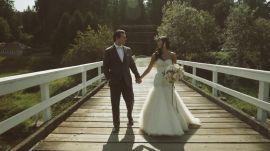 A Formal Outdoor Wedding in Washington