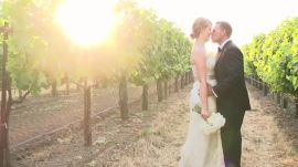 One Couple's Flower-Filled Winery Wedding in Napa