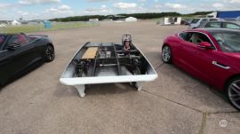 Solar Car in Action