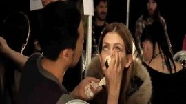 NARS: Backstage at Marc Jacobs Fall/Winter 2010