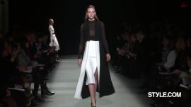 Narciso Rodriguez Fall 2015 Ready-to-Wear
