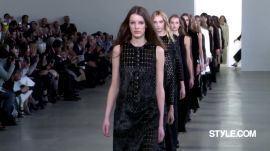 Calvin Klein Collection Fall 2015 Ready-to-Wear