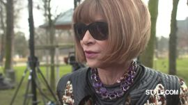Anna Wintour on the Rise of Individuality - Fall 2015 Milan and Paris Highlights