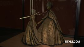 Inside the Jeanne Lanvin Exhibition at Paris' Palais Galliera With Alber Elbaz and Tim Blanks
