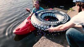 Inner Tube Bullseye Challenge
