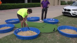 Dude Perfect Presents The Plastic Golf Association Battle
