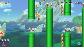 Super Mario Maker: Flappy Mario