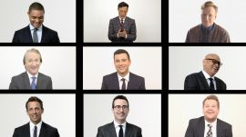 Late Night Group Texts with Conan O'Brien, Stephen Colbert, Jimmy Kimmel, Larry Wilmore, John Oliver, and More