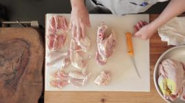 How to Butcher a Whole Chicken With Dai Due's Jesse Griffiths