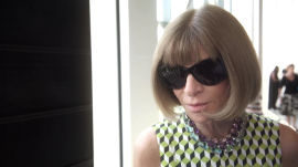 Vogue's Anna Wintour Shares Her Impressions of New York's Spring '16 Shows