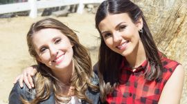 Join Victoria Justice and Her Bestie as They Cuddle Farm Animals