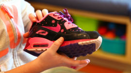 Hospitalized Children Design Nikes as Shoe Therapy