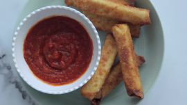 How to Make 3-Ingredient Smoked Mozzarella Sticks