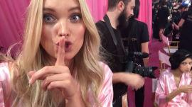 Vogue.com FaceTimes With the Victoria's Secret Angels