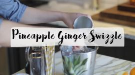 Pineapple Ginger Swizzle