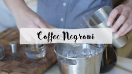 Coffee Negroni