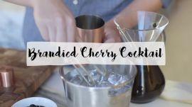 Brandied Cherry Cocktail