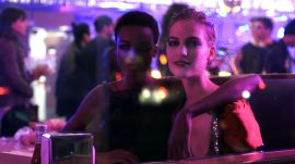 Watch Hailey Baldwin, Hari Nef, and More Take Over a Brooklyn Diner With Makeup Artist Pat McGrath