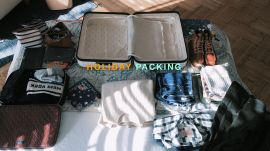 How The Vogue Crew Packs For a Holiday Away