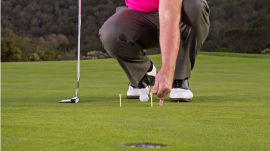 Tom Watson: The Two-Tee Putting Drill