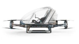 CES 2016 - Autonomous Drone That Seats One Is a Special Kind of Crazy