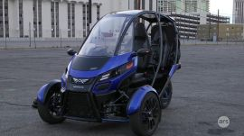CES 2016: Ars test drives an Arcimoto SRK