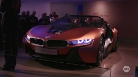 CES 2016: BMW's i8 concept autonomous vehicle
