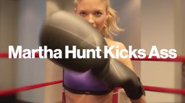 Martha Hunt on How Working Out Empowers Her