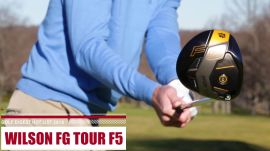 In Action: Wilson FG Tour F5